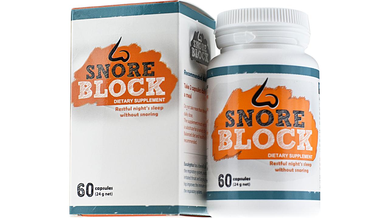 tabletki na chrapanie snore block