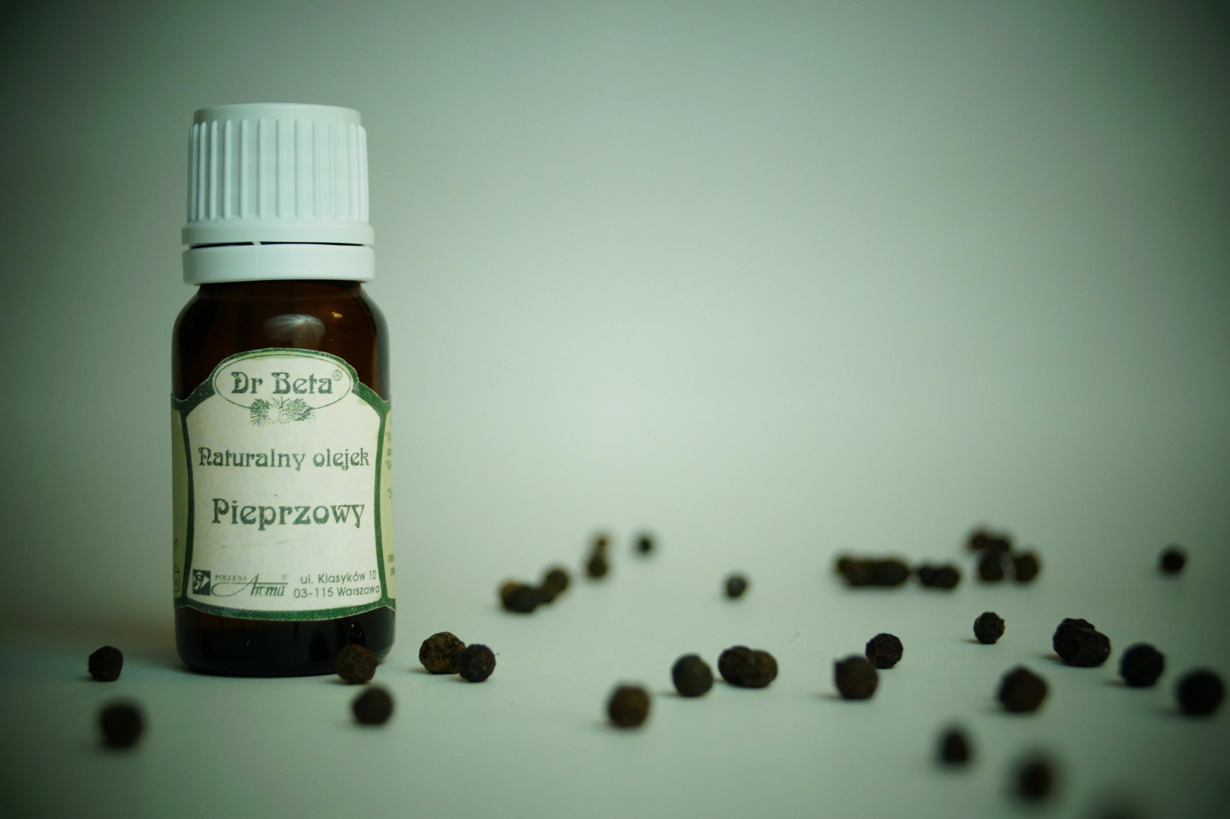 olejek pieprzowy (afrodyzjak)