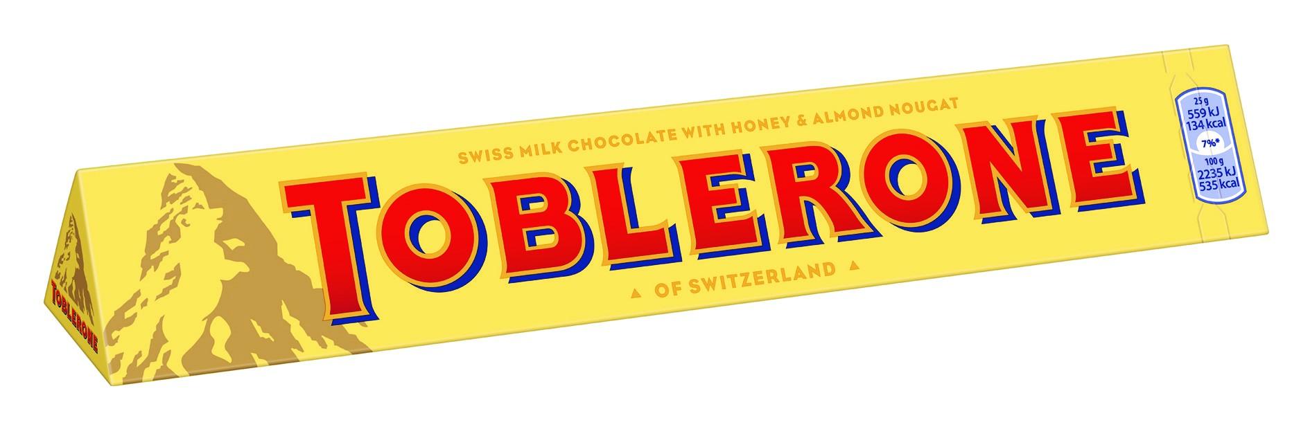 Czekolada Toblerone – słodkie uzupełnienie wielkanocnych spotkań