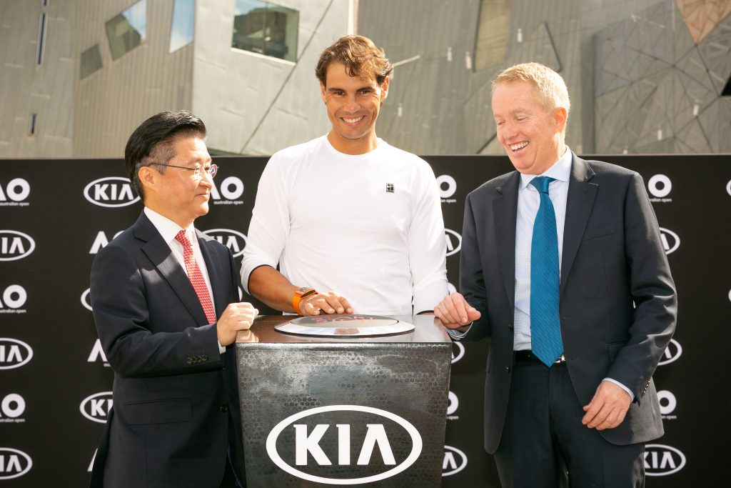 James Cho, Rafael Nadal, Craig Tilley