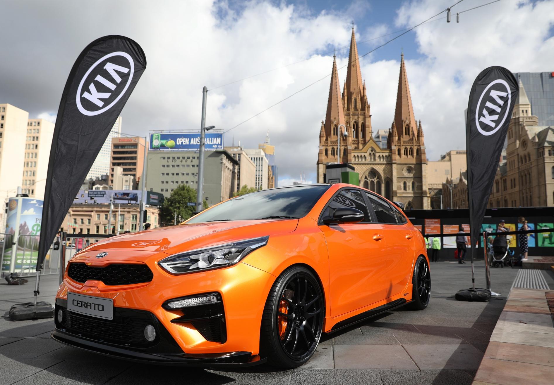 Kia Motors dostarczyła flotę 120 aut organizatorom Australian Open 2019